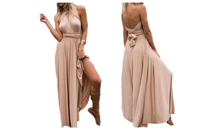 Multiway maxi dress groupon coupons