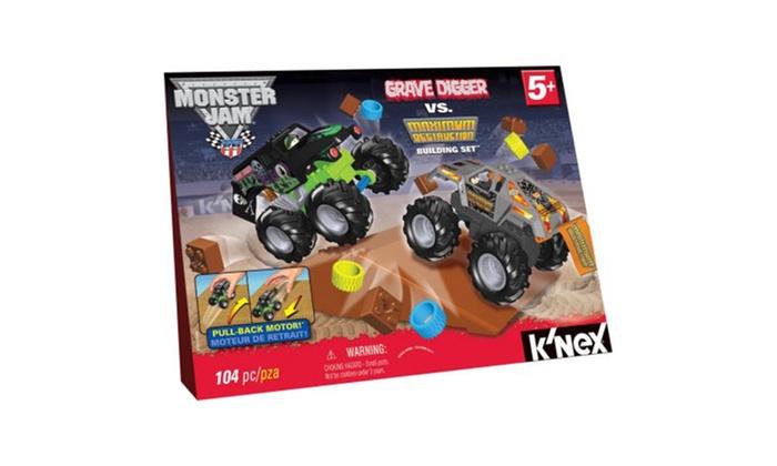 Knex Monster Jam Grave Digger Vs Maximum Destruction Building Set
