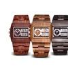 Luxury Sandalwood Analog Watch