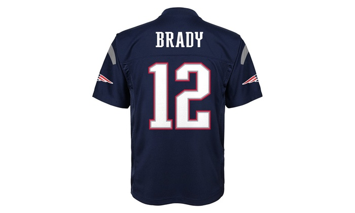 new arrival 6121c e7022 NFL Youth Boys 8-20 Tom Brady New England Patriots Boys ...