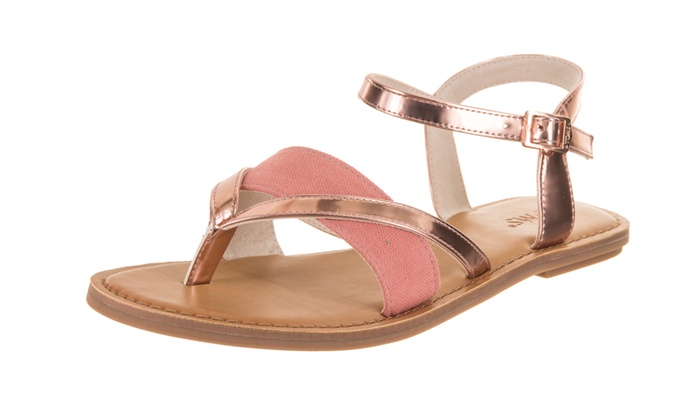 00709b12863b Toms Women s Lexie Sandal Medium 5.5 Women US Rose Gold Specchio Hemp