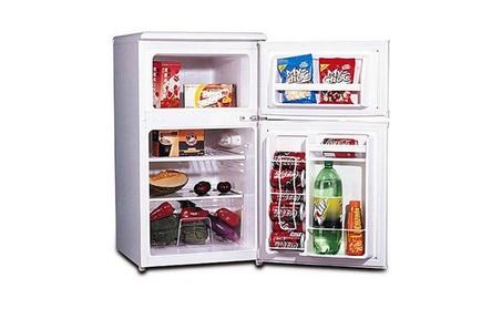 3.2 cu. ft. 2-Door Refrigerator and Freezer d2384046-3cd7-48c7-be09-34ba48fbab5c