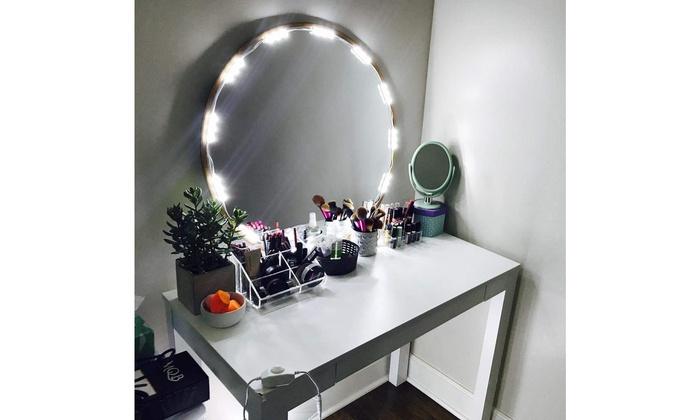 Cosmetic Makeup Vanity Mirror Kit 20 Led Lights