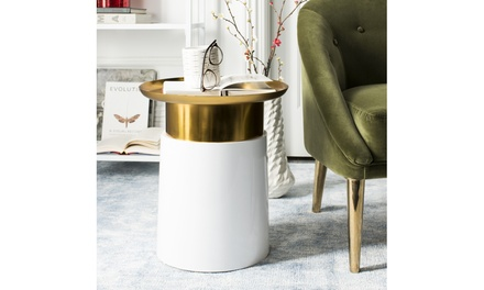 Safavieh Contemporary Tray-Top, Round, or Stone-Top Side Table