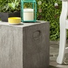 Safavieh Indoor/Outdoor Concrete Accent Tables