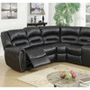 Vinstra Motion Sectional Upholstered in Bonded Leather