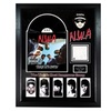 N.W.A. Straight Outta Compton Signed Cutout with Album Custom Framed