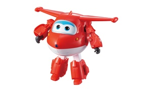 Auldey Toys - Super Wings Transforming Character, Jett
