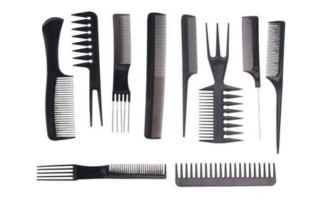 Premium Unisex Salon Grade Hairdresser 10 Piece Styling Comb Set 627d87bb-9977-49ce-b5e2-c8081aa4eab7