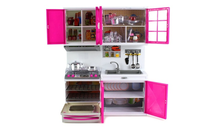 Delicieux My Modern Kitchen Stove Oven Sink Toy Doll Kitchen Playset ...