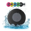 Portable Water-Resistant Wireless Shower Speaker with Built-In Mic