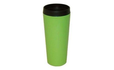 Good Life Gear SF3007 GRN 16 oz. Hot-Cold Travel Mug With Screw On Lid 5245b2e2-df9d-4913-aff9-fb68fa2b3f85