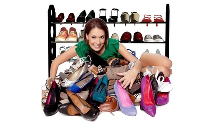 18/20/30/50 Pairs Home Closet Storagel Organizer Holder Shoe RacK