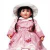 "Cherish Crafts 25"" Muscial Vinyl Doll 'Mia'"