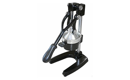 Manual Lever Press Citrus Juicer Heavy Cast Iron Steel Base b29ea3de-1f0a-4e69-9429-75ec3beed59d