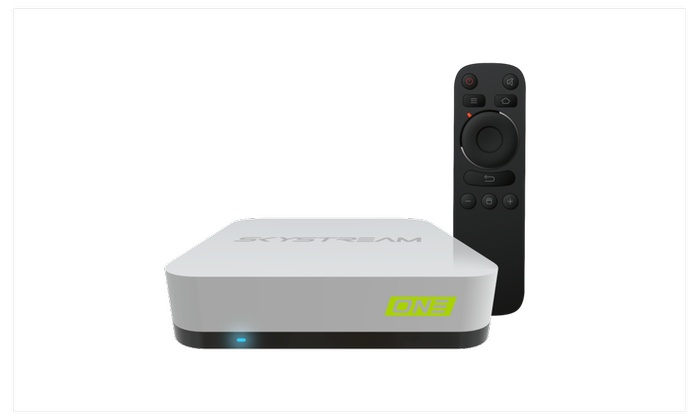 SkyStream One Android TV Box Streaming Media Player   Groupon