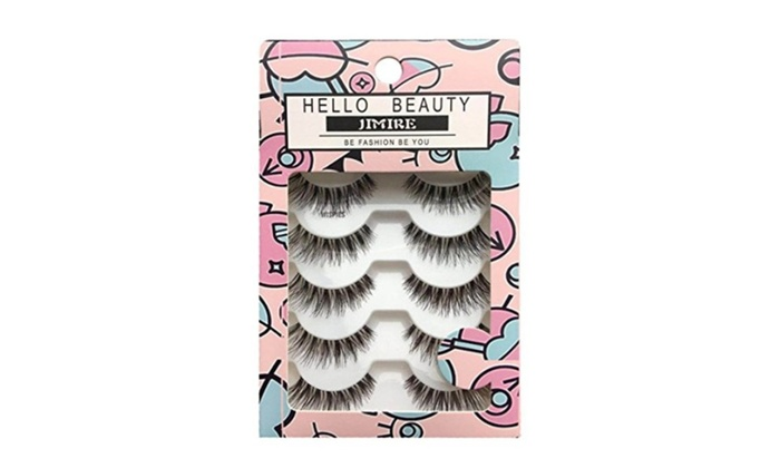 80c4171a713 Multipack Demi Wispies Fake Eyelashes – 5 Pack | Groupon