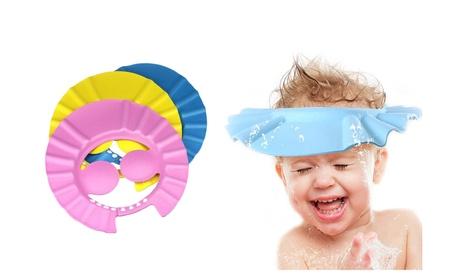 Ultra-soft Shampoo Bath Bathing Shower Cap Hat Wash Hair Shield