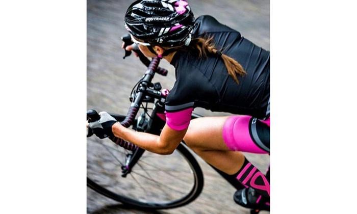 56b141adbe Mojo Special Edition Cancer Awareness Ribbon Compression Socks - Pink