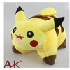 Pokemon Pikachu Plush Toys Cute Pikachu sleep cushion soft plush doll