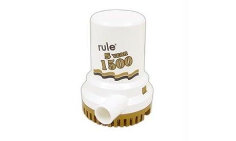 Rule 1500 G.P.H. Gold Series Bilge Pump photo