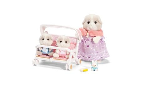 Calico Critters - Patty and Padens Double Stroller Set de60c156-00d1-4c26-b865-076a864b0162