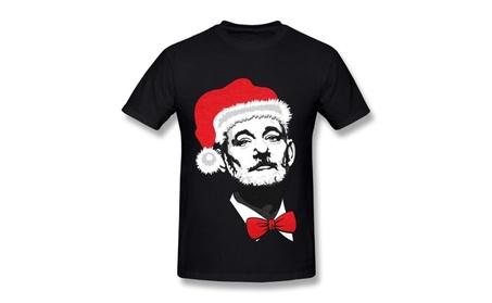 Mens Bill Murray Christmas Poster T-shirt c7172be5-e9d2-4e98-8bcc-68de20e09c1b