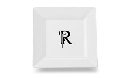 Carolines Treasures CJ1056-RSP115 Letter R Monogram Modern Plate photo