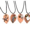 Essential Oil Diffuser Necklace Terracotta