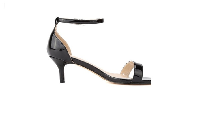 Thin Heels Shoes Open Toe Summer Casual Shoes