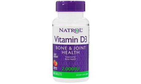 Natrol Fast Dissolve Vitamin D3 2000IU