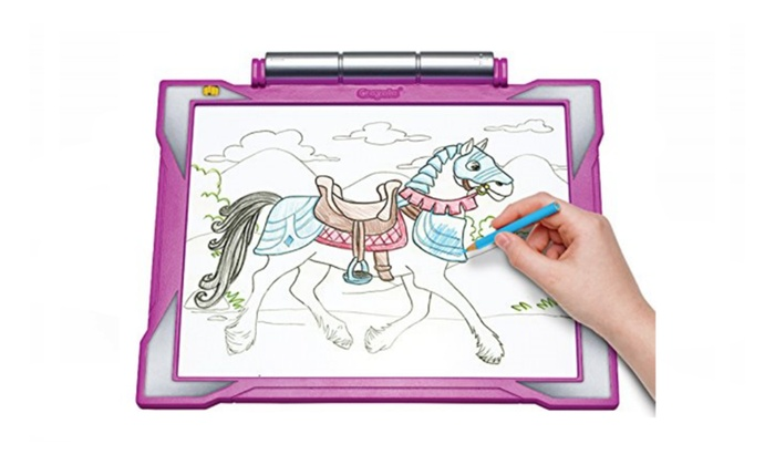 up to 45 off on crayola light up tracing pad groupon goods