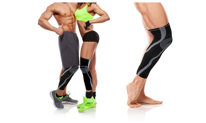 Uniform Knee and Calf Compression Sleeve