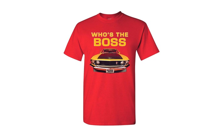 Up To 59% Off on Who's The Boss? T-Shirt