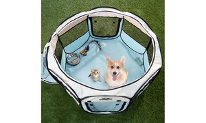 Petmaker Portable Pop-Up Pet Playpen with Carrying Bag