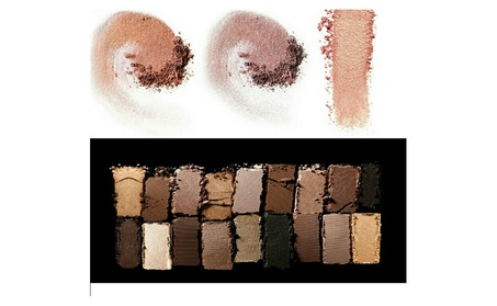 12 Color Nude Eye Shadow Shimmer, Matte, and Earth Eyeshadow Palette 0432a102-ee9f-4550-9c6c-d76cb54ac6ce