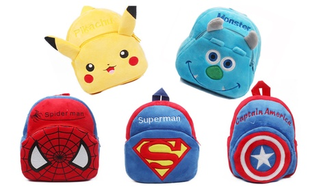New Mini Cute Cartoon Plush Backpack For Kids' Schoolbag 672bcf19-7ab5-47a0-9854-6053d4bc67d3