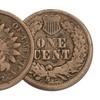 1860-1863 Copper-Nickel Indian Head Cent Set