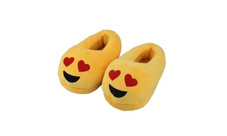 New Comfortable Fun Warm Cute Emoji Winter Shoes Unisex Cherioll Adult Slippers 5f233562-65da-4e99-a273-2fd6d930dbe9