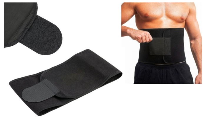 Professional Unisex Sports Sweet Sweat Premium Waist Trimmer Belt
