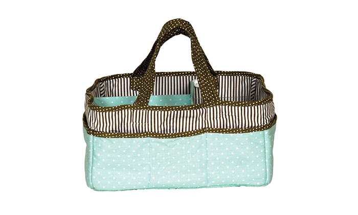 Trend Lab Storage Caddy   Cocoa Mint ...