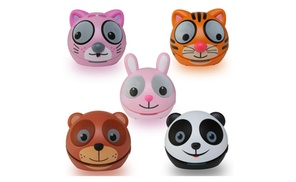 Zoo-Tunes Compact Portable Blootooth Stereo Character Speakers  at The Teds Store, plus 6.0% Cash Back from Ebates.