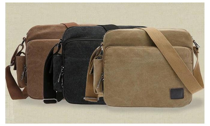 Multifunction Messenger Bag