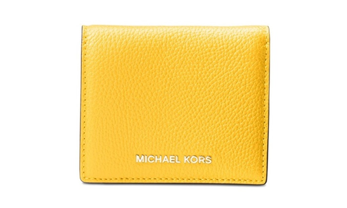d79880081c69 MICHAEL Michael Kors Mercer Flap Card Holder | Groupon