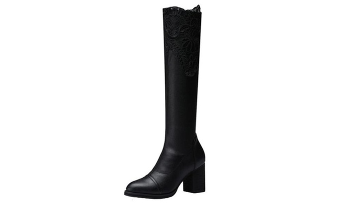 Women's Ladies  Casual Solid Fashion Boots Shoes