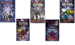Batman Beyond Action Figure Collectible (1-, 3-, or 6-Pack)