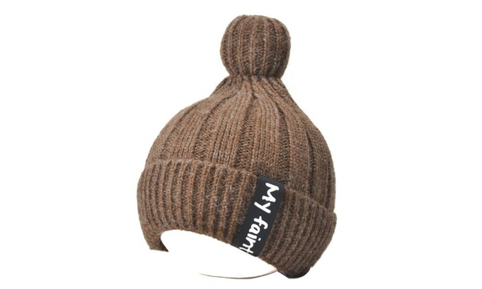 Women's Ladies Solid Casual No Crown Single Layer Woollen Hat