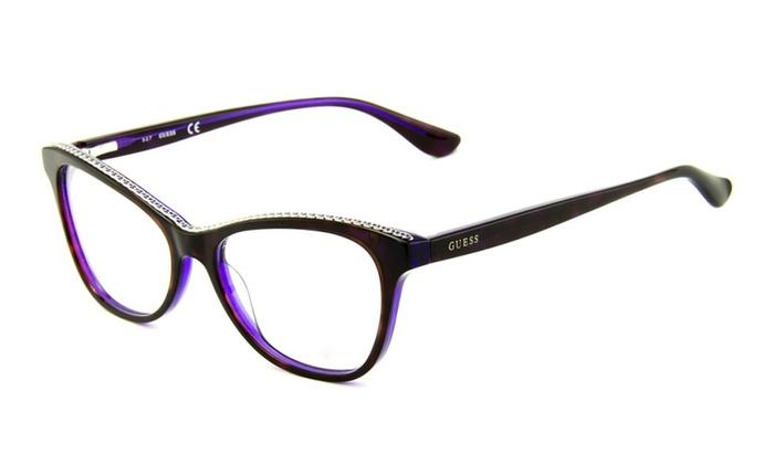 GUESS Eyeglasses GU2624 083 53 Purple Frame / Clear Lenses   Groupon