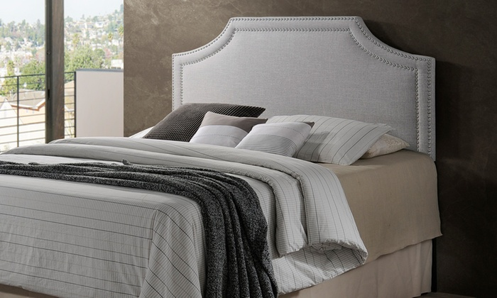 Up To 48% Off On Avignon Upholstered Headboard Groupon Goods Classy Avignon Bedroom Furniture