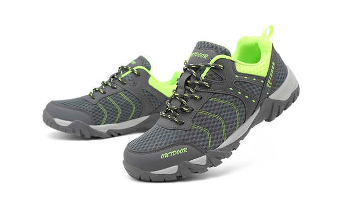Men's Air Mesh Trail Running Lightweight Hiking Shoes